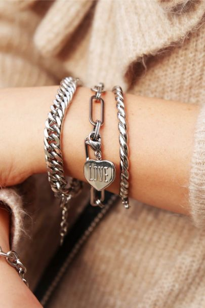 Armband grote ovale schakels