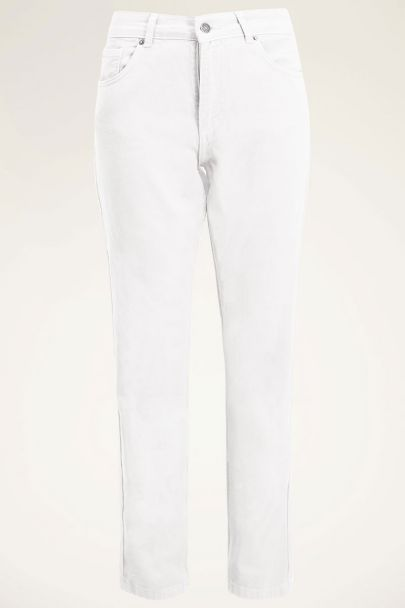 Witte mom jeans | Mom jeans | Dames jeans My jewellery