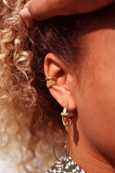 Ear cuff bolletjes