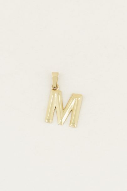Bedel losse initial | letter bedels My Jewellery
