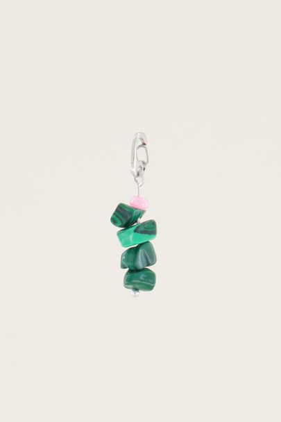 Moments charm malachite stone | Sieraden bedels My Jewellery