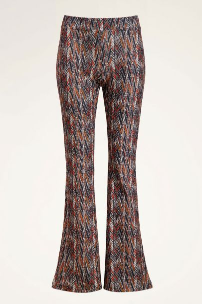 Flared pants boho print | My Jewellery