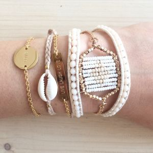 Inspiring Bar Bracelet Gold/Silver/Rose - Love Life