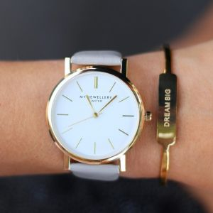 My Jewellery Limited Watch Grey - Gold