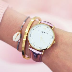 My Jewellery Limited Watch Small 2.0 – Pink/Gold