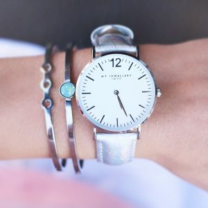 My Jewellery Limited Watch Small 2.0 – Holographic/Silver