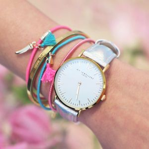 My Jewellery Limited Watch Small 2.0 – Holographic/Gold