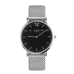 My Jewellery Limited Watch - Silver/Black
