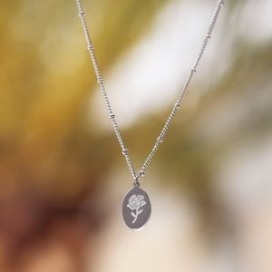 Pendant Necklace - Rose