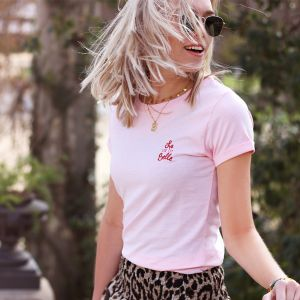 City Shirt - La Vie Est Belle - Light Pink