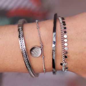 La Vie Est Belle Bangle - Gold/Silver/Rose gold