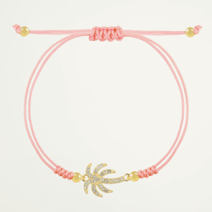 Armband strass palmboom