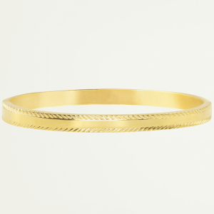 Bangle streep patroon, slavenarmband
