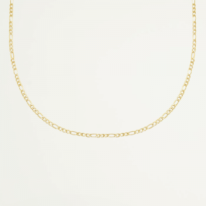 Flat chain necklace, korte ketting