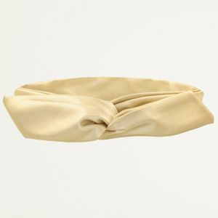 Gouden Faux Leather Haarband, Haaraccessoire