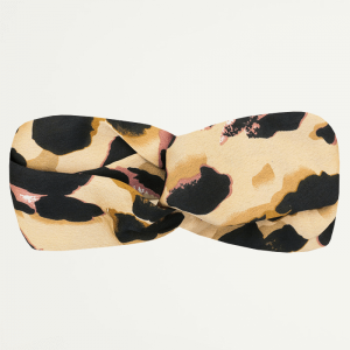 Leopard Hairband-Bruin