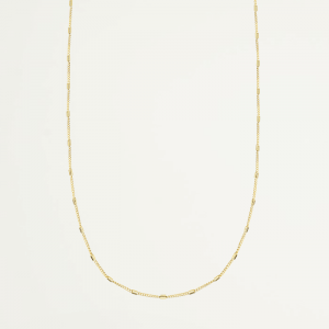 Lange ketting staafjes, Minimalistische ketting