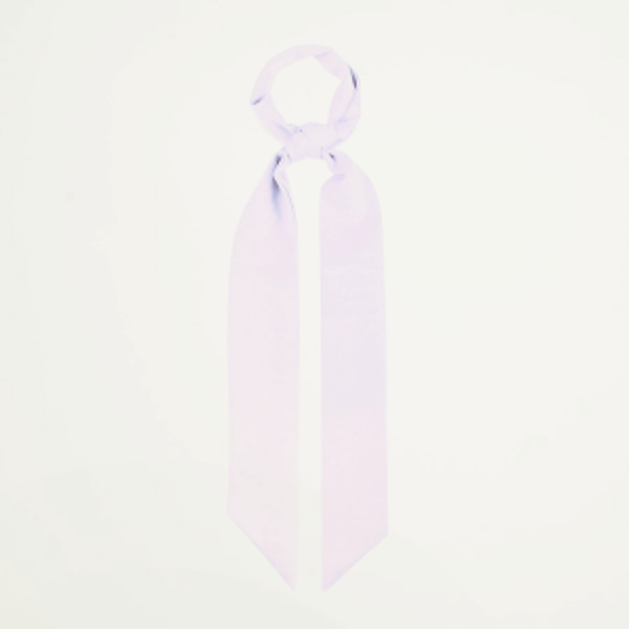 Lichtpaars haar sjaaltje, haarlint