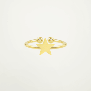 Little Star Ring - Gold/Silver-Goud kleurig