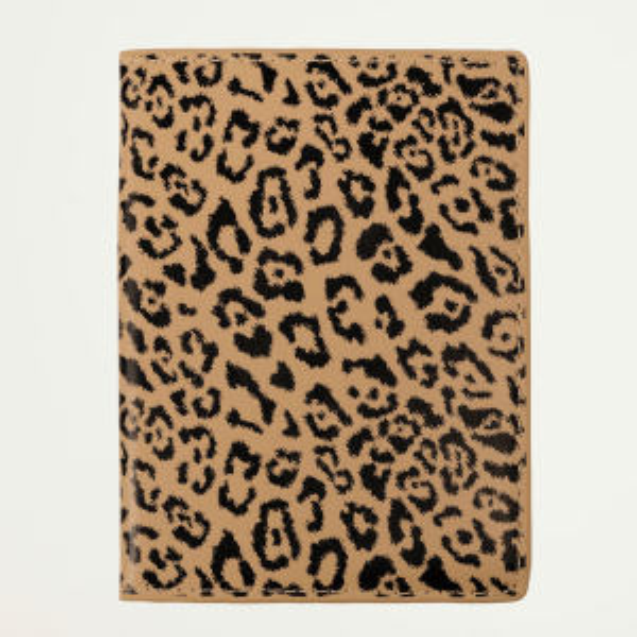 Paspoorthoesje luipaardprint, luipaard print