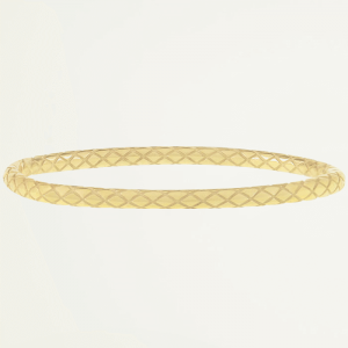 Bangle ruitjes-Goud kleurig