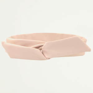 Roze Faux Leather Haarband, Haaraccessoire
