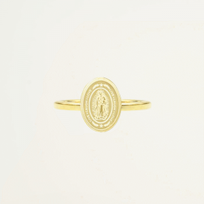 Stalen Ring Maria, Minimalistische Ringen