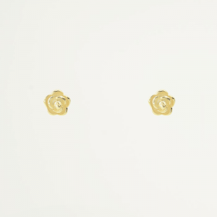 Studs Roosjes-Goud kleurig