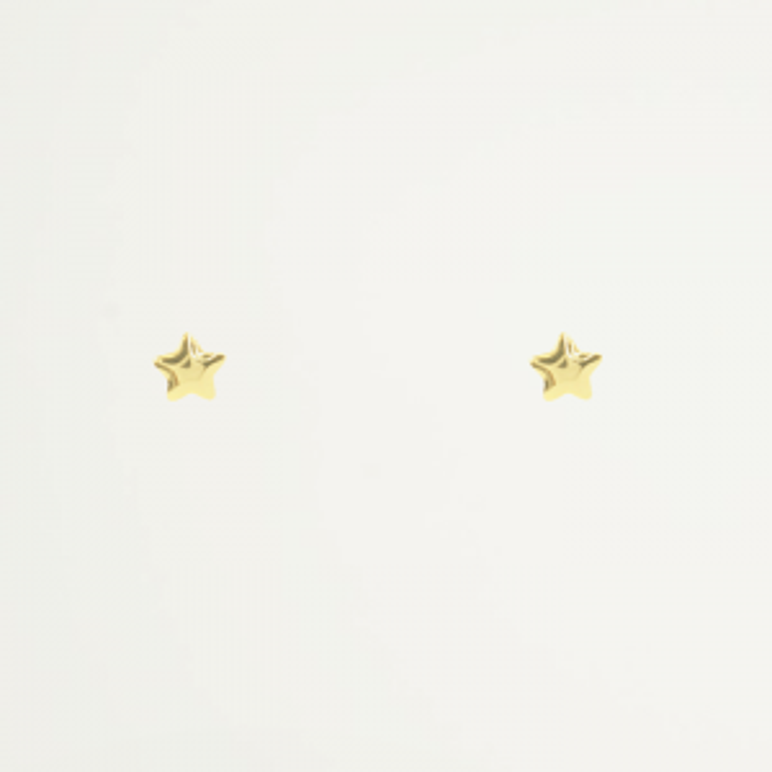 Studs vorm ster, 925 zilver