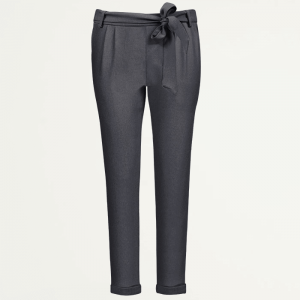 antraciet pantalon casual, pantalon