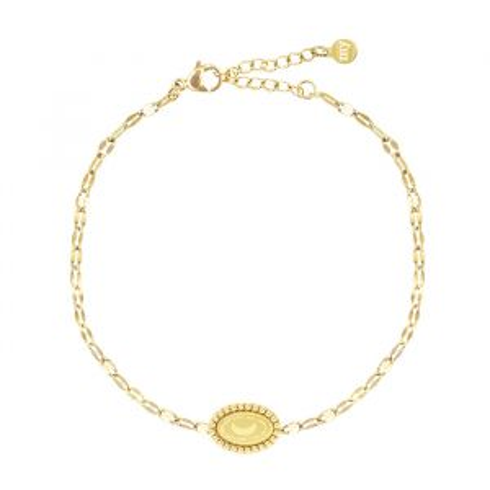 Half Moon Bracelet Galaxy-Goud