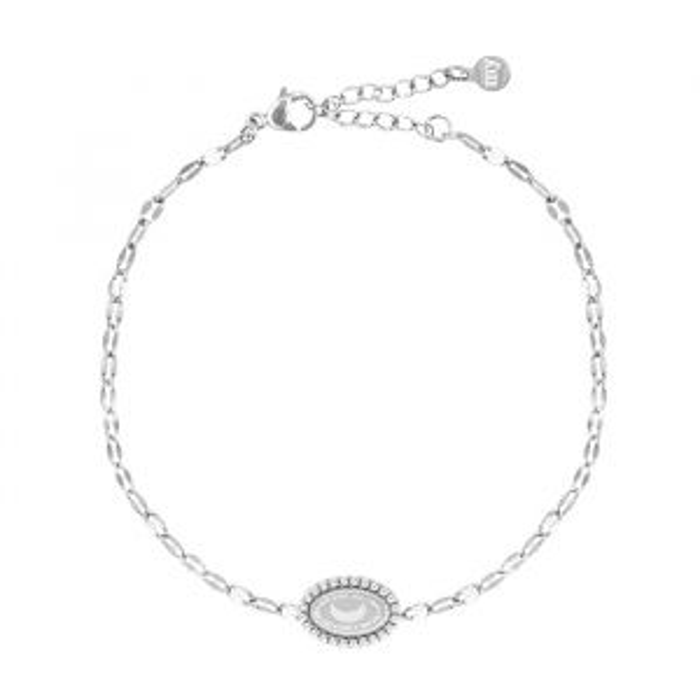 Half Moon Bracelet Galaxy-Zilver