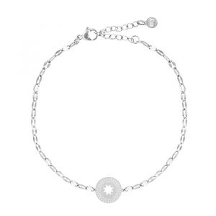 Star Coin Bracelet Galaxy-Zilver