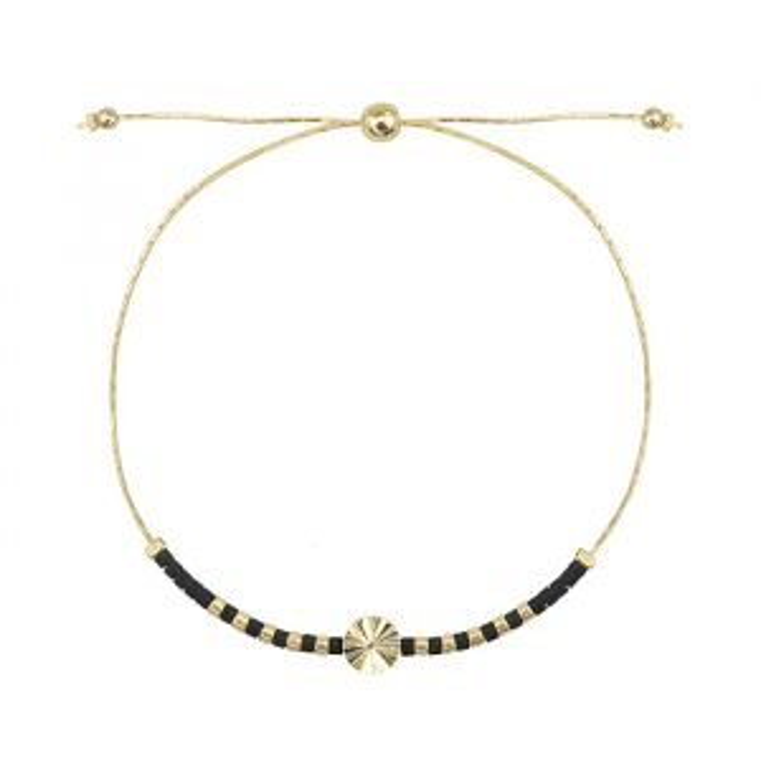 kralenarmband ronde bedel, dames armband My Jewellery