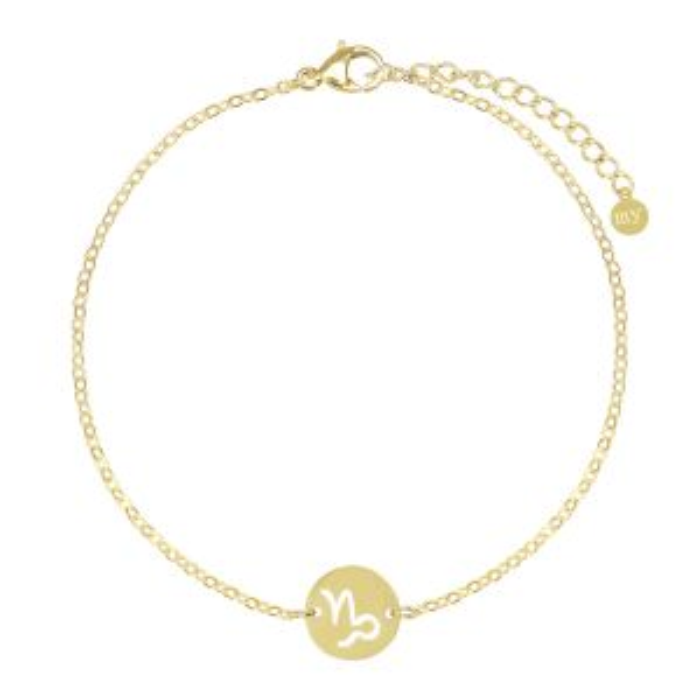 Sterrenbeeld armband-Goud kleurig-Steenbok