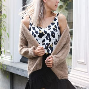 Basic Cardigan - Beige