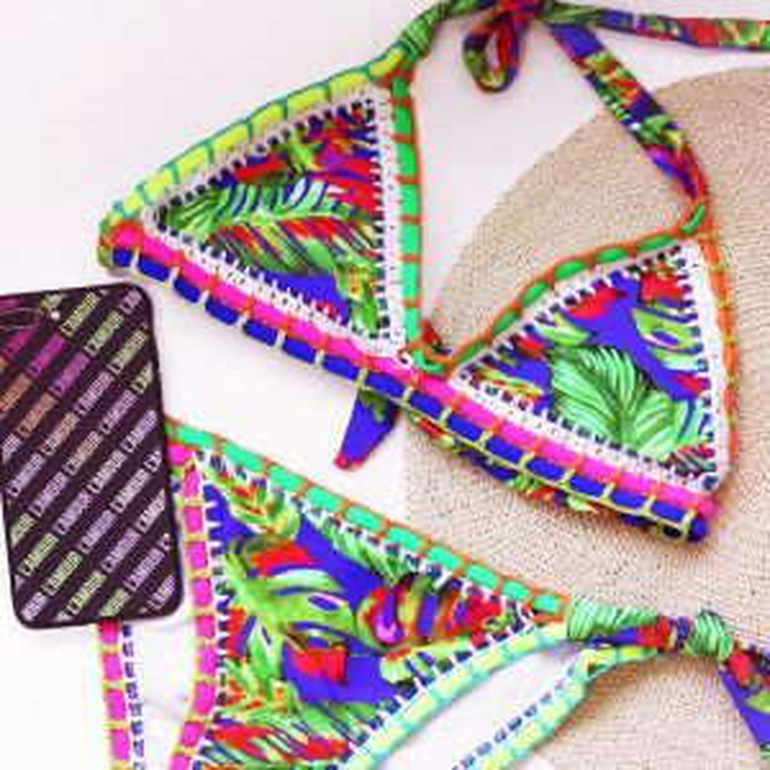 Tropical Ibiza Bikini - Blue