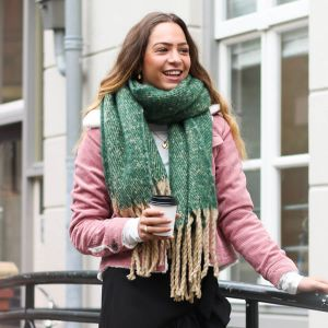 Forest Green Comfy Scarf