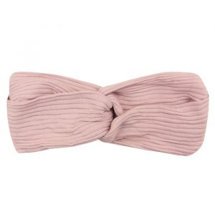 Roze haarband ribstof My Jewellery