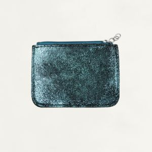 Green/Blue Small Glitter Wallet
