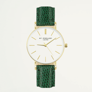 Small Vintage Watch - Green