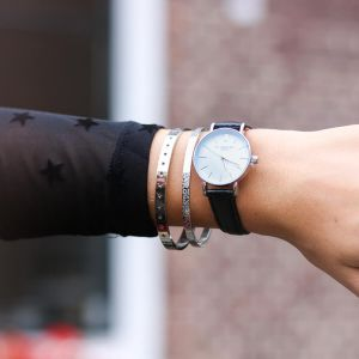Small Vintage Watch - Black