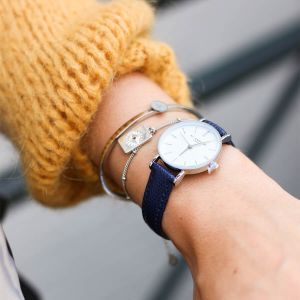 Small Vintage Watch - Navy