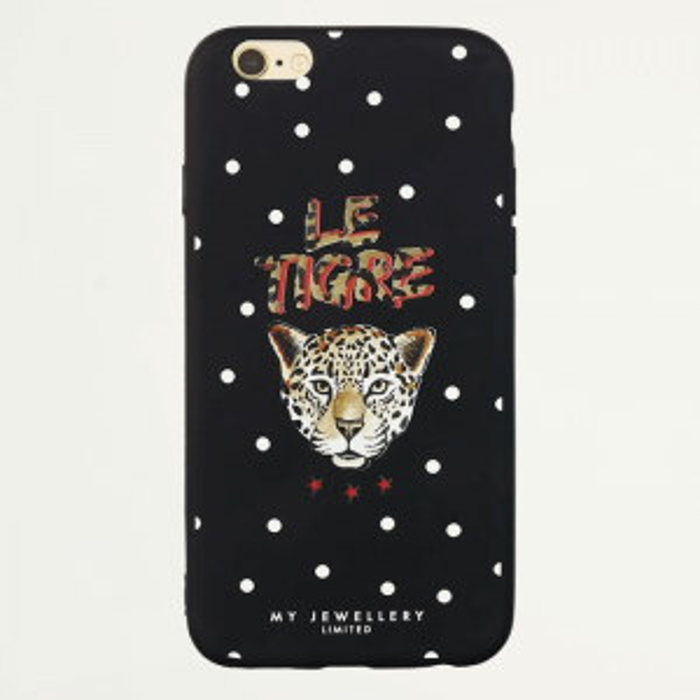 iPhone hoesje tijger stippen sterren soepel, hoesjes