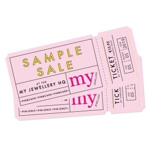 Sample sale ticket: 5 mei