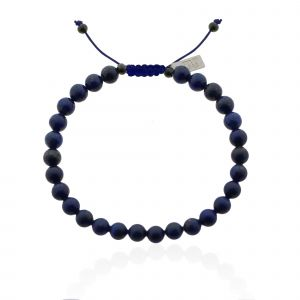 Mr. Jewellery Beads Bracelet - Dark Blue