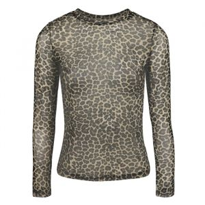 Mesh top luipaardprint My Jewellery