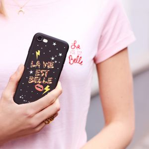 La Vie Est Belle Case Black - iPhone