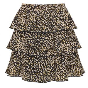 Camo Printed Skirt
