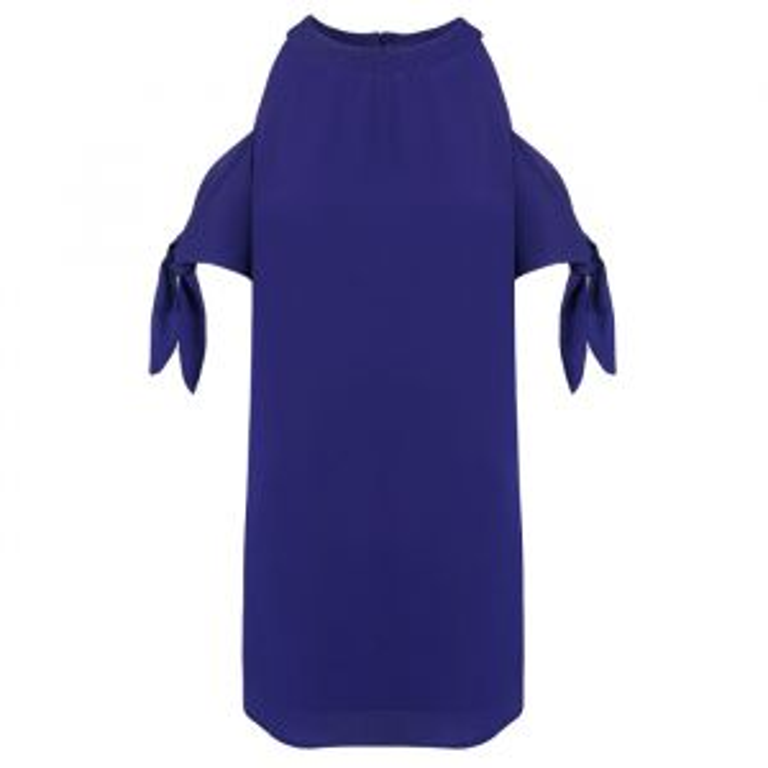 A-lijn jurk open schouder, Zomerjurkjes